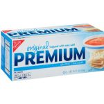 Premium Saltine Crackers, Nabisco (453g, 1lb)